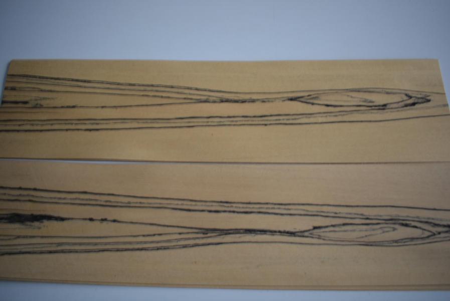 239 placage ebene blanc marqueterie feuille de bois 2