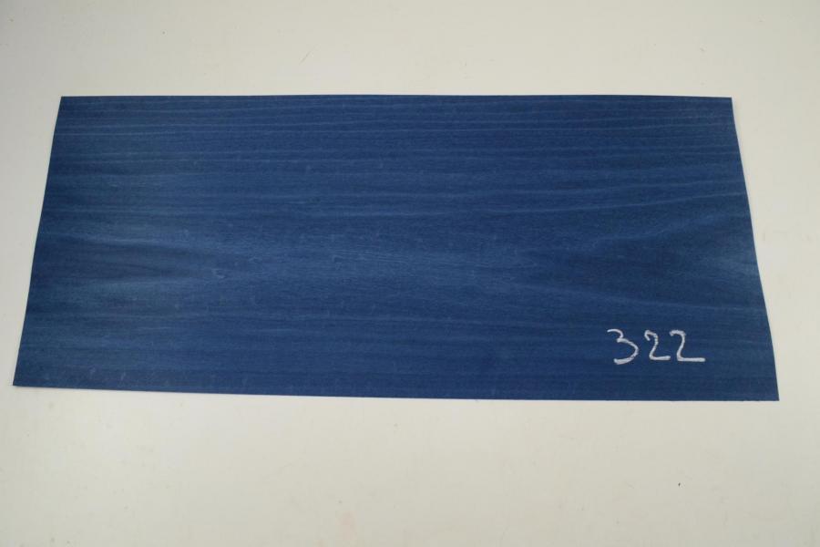 322 placage tulipier teinte bleu