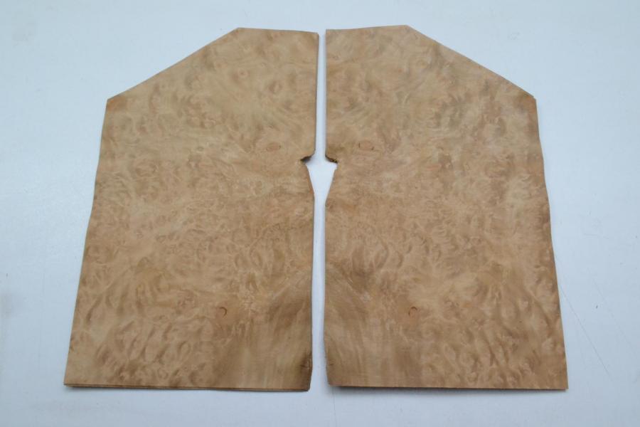 469 feuille de bois loupe de myrte pour marqueterie placage bois 2